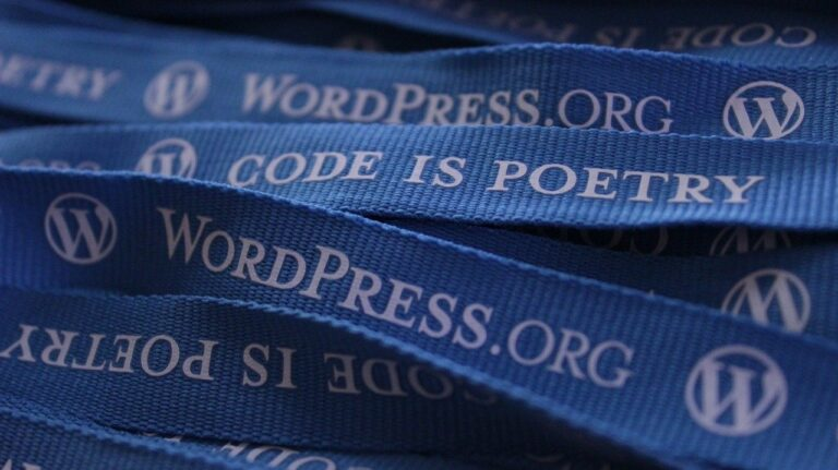 wordpress, lanyards, blog